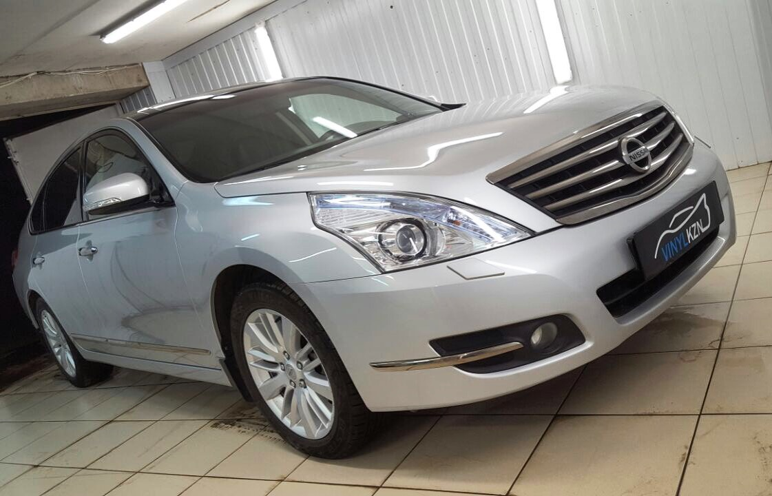 Глубокая восстановительная полировка всего автомобиля — Nissan Teana