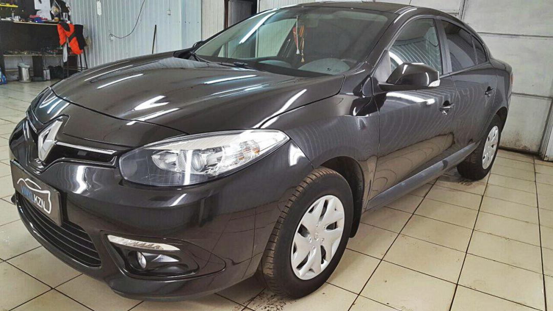 Глубокая восстановительная полировка всего автомобиля Renault Fluence