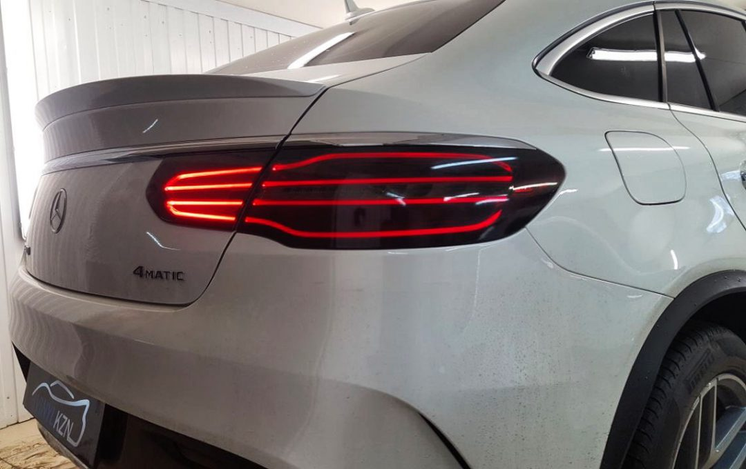 Тонировка фар автомобиля — Mercedes GLE