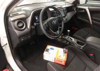Сертифицированная установка сигнализации Starline A93 — Toyota Rav4