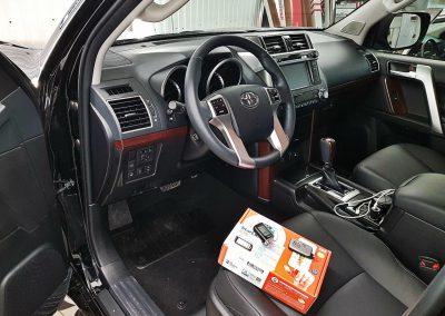 Сертифицированная установка сигнализации Starline A93 — Toyota Prado