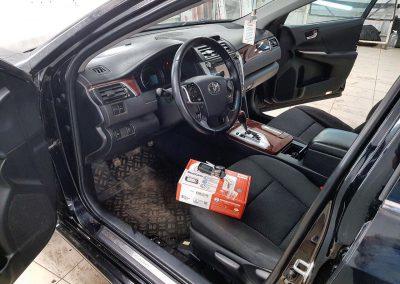 Сертифицированная установка сигнализации Starline A93 — Toyota Camry