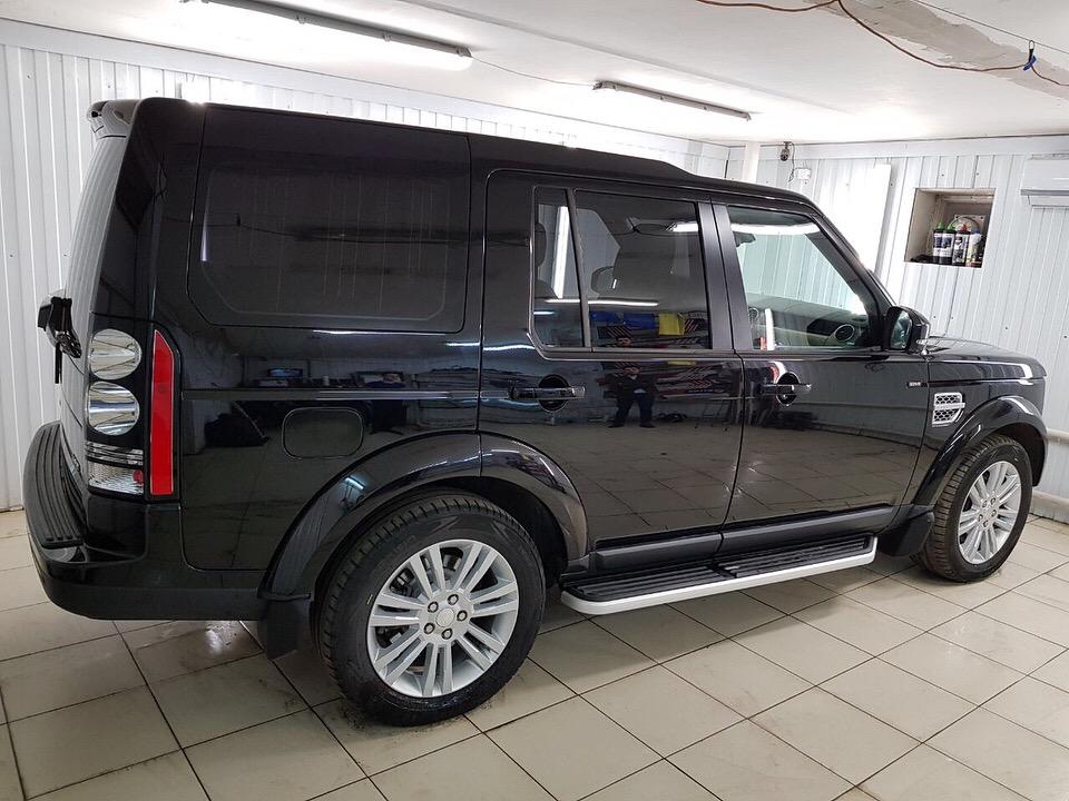 Полная глубокая восстановительная полировка автомобиля — Land Rover Discovery