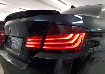 Тонировка фар автомобиля BMW 5 серии