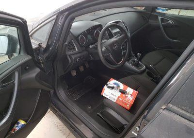 Сертифицированная установка сигнализации с автозапуском StarLine A93 — Opel Astra