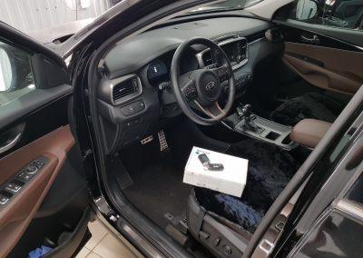 Сертифицированная установка сигнализации Starline A93 на автомобиль Kia Sorento Prime