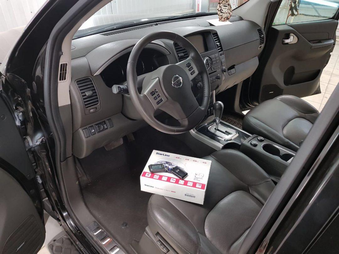Сертифицированная установка сигнализации Starline A93 — Nissan Pathfinder