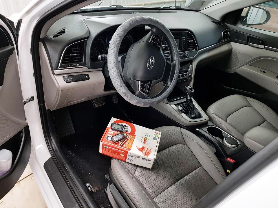 Сертифицированная установка сигнализации с автозапуском Starline A93 — автомобиль Hyundai i40