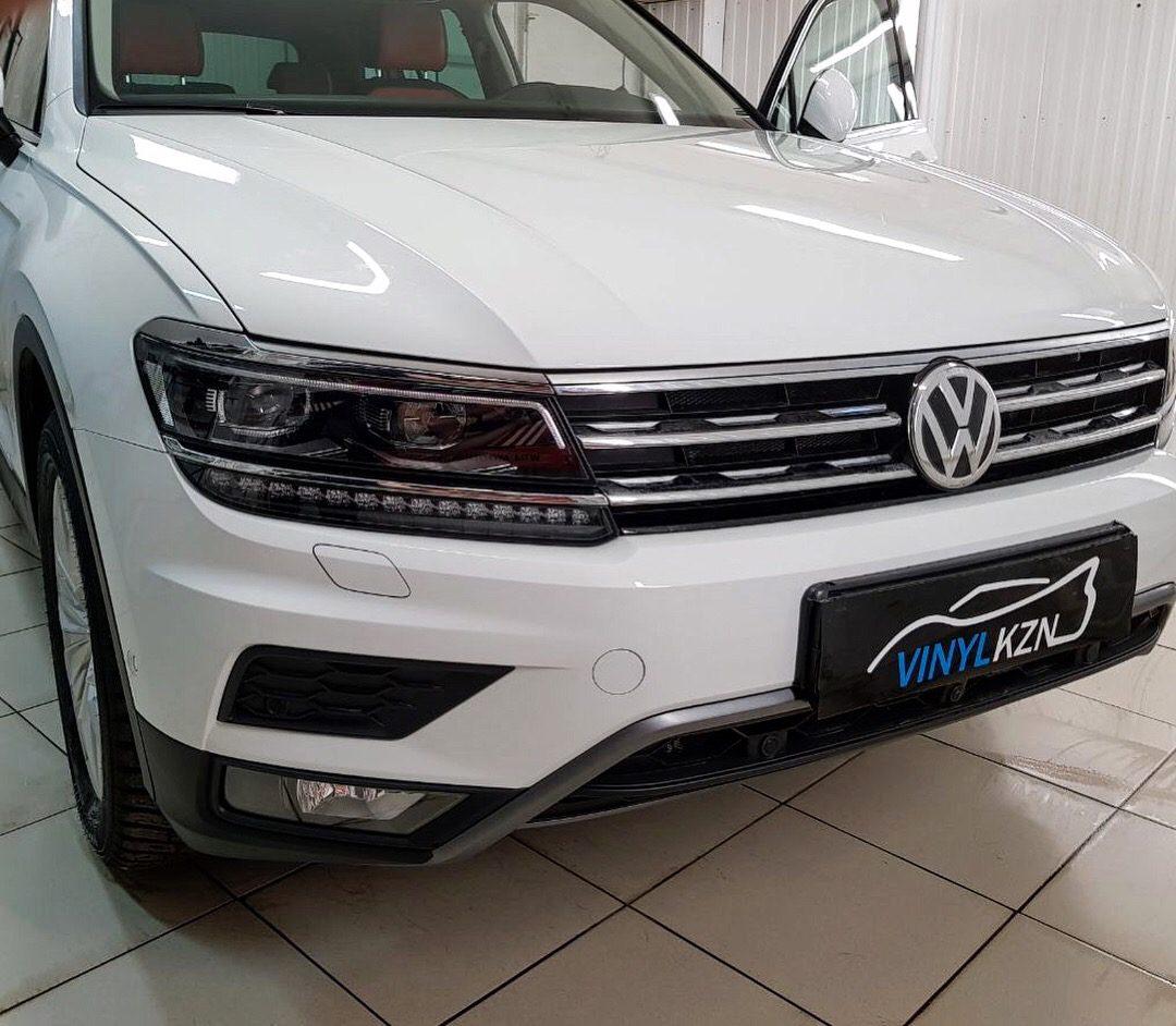 Комплексное бронирование кузова антигравийной плёнкой Hexis Bodyfence — VW Tiguan