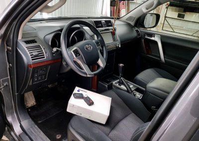 Сертифицированная установка сигнализации StarLine A39 — Toyota Land Cruiser Prado
