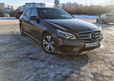Полная глубокая восстановительная полировка Mercedes-Benz E-klasse W212