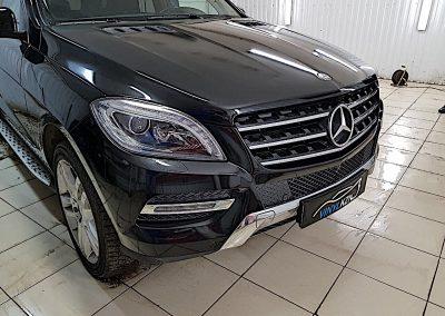 Комплексное бронирование антигравийной плёнкой Mercedes ML