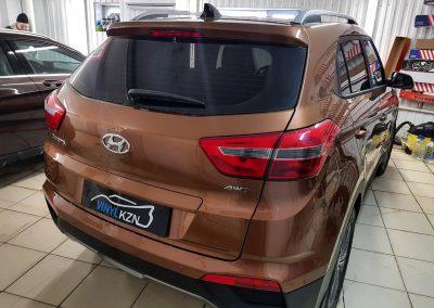Тонировка пленкой Ultra Vision Supreme (Thermo) HP задней части авто Hyundai Creta