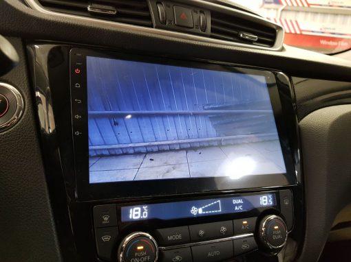Установка камеры переднего и заднего вида Nissan X-Trail