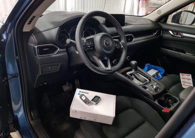 Сертифицированная установка сигнализации StarLine A93 на автомобиль Mazda CX-5
