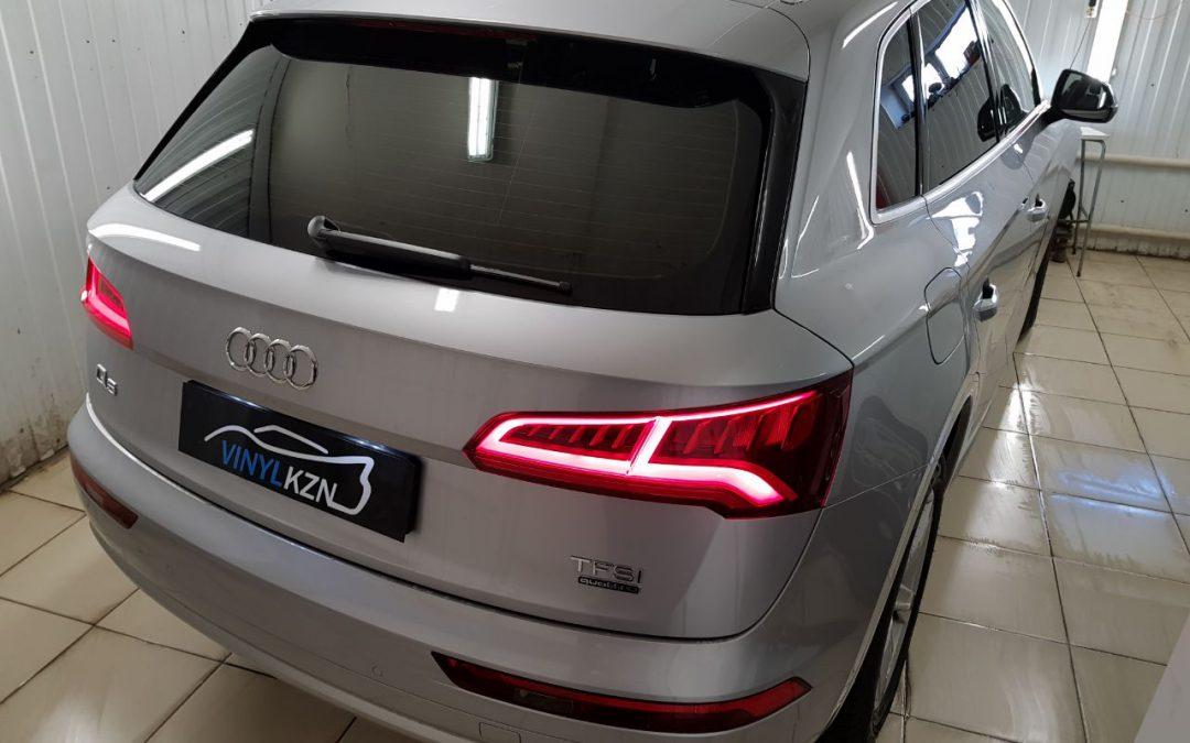 Тонировка пленкой Llumar 95% задней части автомобиля — Audi Q5