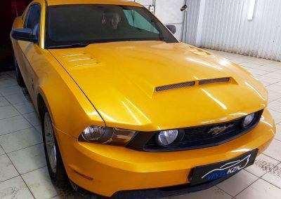 Тонировка лобового стекла 30% затемнения — Ford Mustang