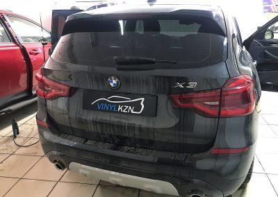 Тонировка пленкой Ultra Vision Supreme (Thermo) HP задней части авто — BMW X3
