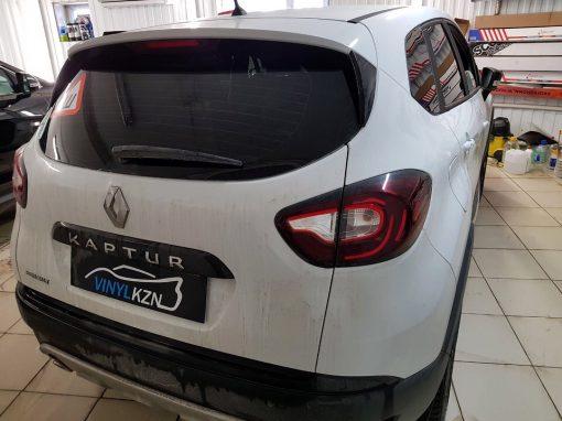 Тонировка пленкой Ultra Vision Supreme (Thermo) HP задней части авто Renault Kaptur