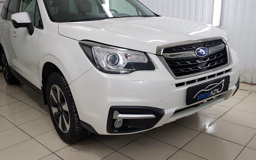 Защитили от сколов и царапин пленкой Hexis Bodyfence — Subaru Forester