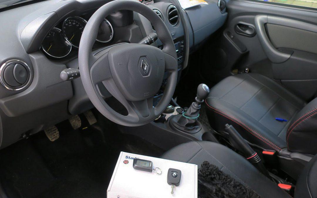Сертифицированная установка сигнализации StarLine A93 — Renault Duster
