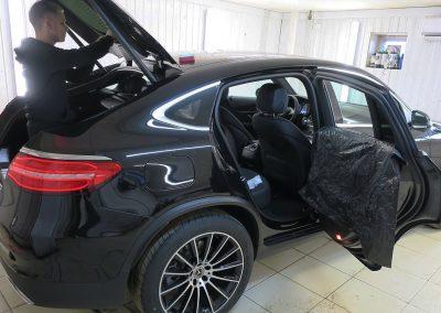 Тонировка пленкой Llumar 95% задней части — Mercedes GLC Coupe