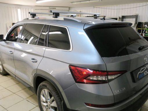 Тонировка пленкой Llumar 95% задней части автомобиля Skoda Kodiaq