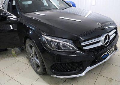 Бронирование под ручками и бронирование порогов — Mercedes-Benz C-klasse