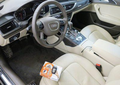 Сертифицированная установка иммобилайзера StarLine i95 — Audi A6