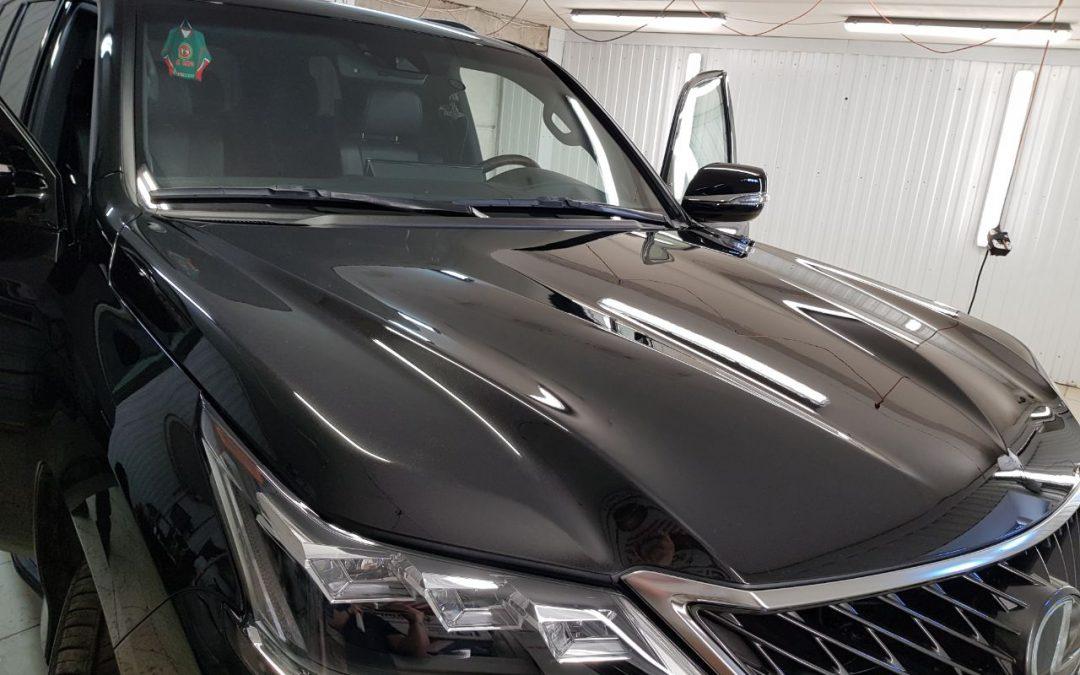 Бронирование лобового стекла Lexus LX