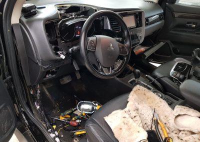 Сертифицированная установка StarLine S96 — Mitsubishi Outlander