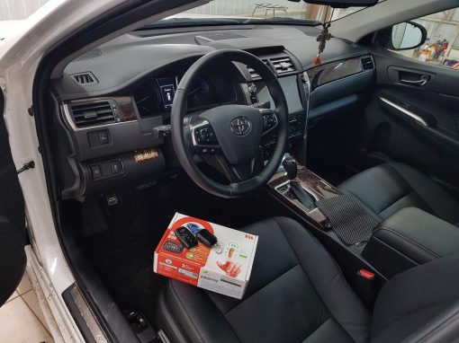 Сертифицированная установка сигнализации StarLine B96 — Toyota Camry