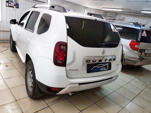 Тонировка пленкой Llumar 95% задних стекол авто — Renault Duster