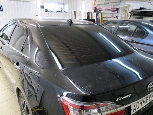 Тонировка пленкой Llumar 95% задней части — Toyota Camry