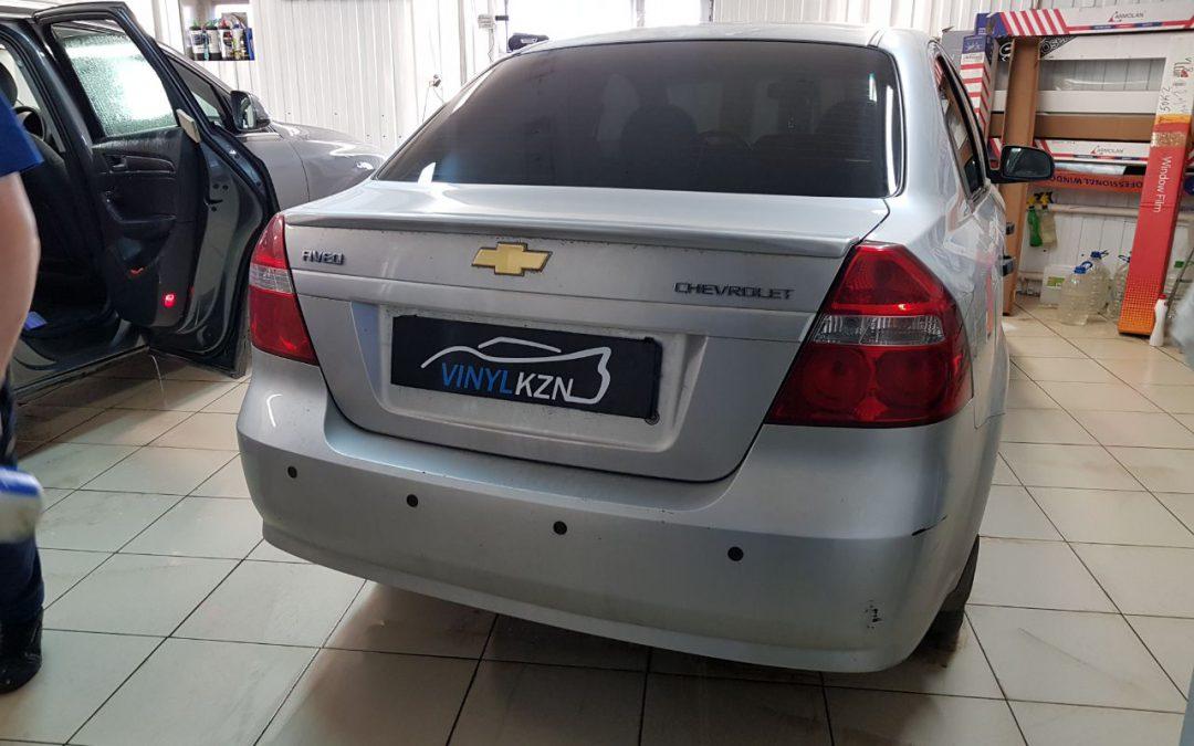 Тонировка пленкой Carbon — Chevrolet Aveo