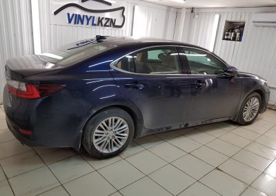 Атермальная тонировка пленкой UV Sun Protection Blue Cold (80%) — Lexus ES