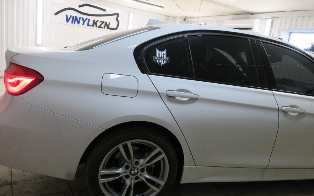 Тонировка передних стекол 85% — BMW 3