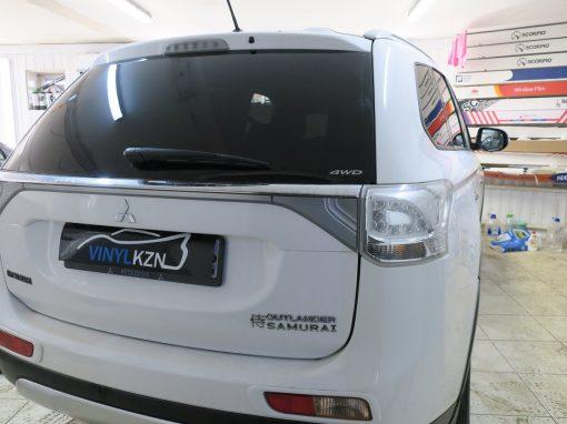 Тонировка пленкой Carbon 05 — Mitsubishi Outlander