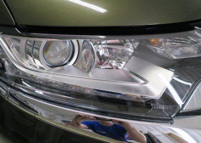 Полировка и бронирование фар — Mitsubishi Outlander