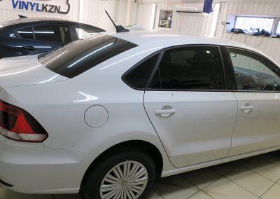 Тонировка, бронирование капота и зон риска — VW Polo