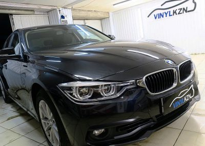 Бронирование пленкой Hexis Bodyfence и установа автосигнализации StarLine A93 — BMW 3 серии