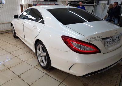 Тонировка пленкой Llumar 95% — Mercedes CLS