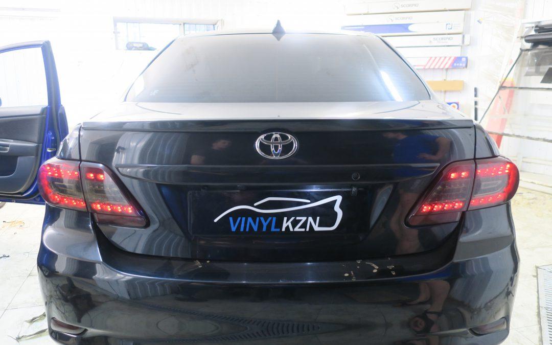 Тонировка фар — Toyota Corolla