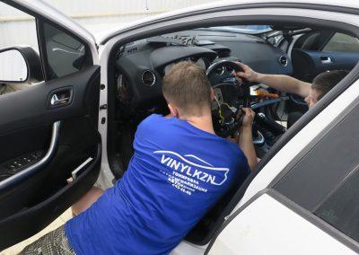 Ремонт системы безопасности, перетяжка торпеды, разблокировка ремней, ремонт SRS блока — Peugeot 308