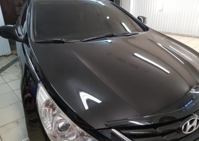 Тонировка стекол авто — 60% передняя полусфера, 95% задняя полусфера — Hyundal Sonata