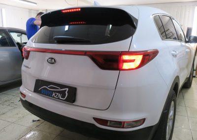 Тонировка задней части авто пленкой Llumar 95% — Kia Sportage