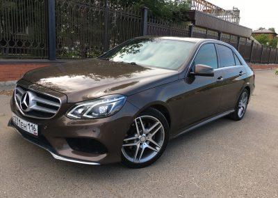 Восстановительная глубокая полировка всего авто, обработка жидким стеклом — Mercedes-Benz E-Class