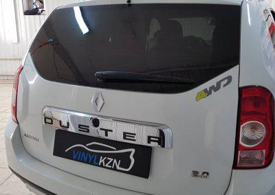 Тонировка задней части авто пленкой Ultra Vision 85% — Renault Duster