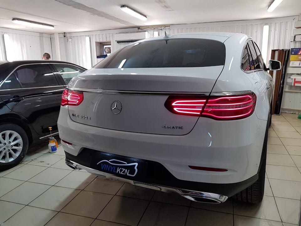 Тонировка пленкой Llumar 95% задней части Mercedes GLE Coupe