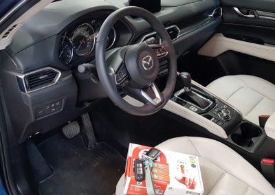 Сертифицированная установка сигнализации StarLine A93 — GSM Mazda CX5